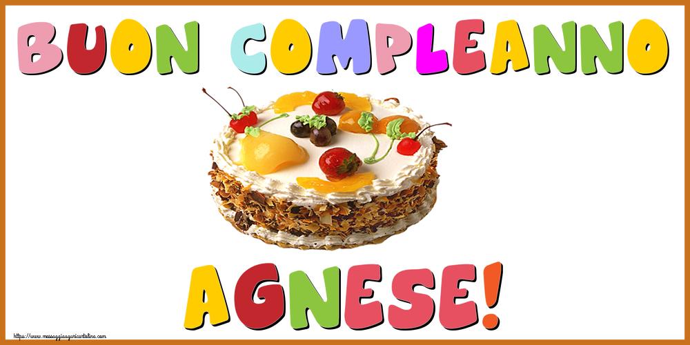 Cartoline di compleanno - Buon Compleanno Agnese!