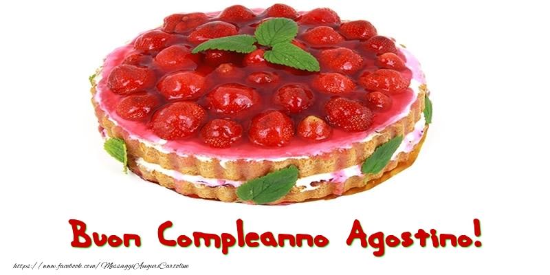 Cartoline di compleanno - Buon Compleanno Agostino!
