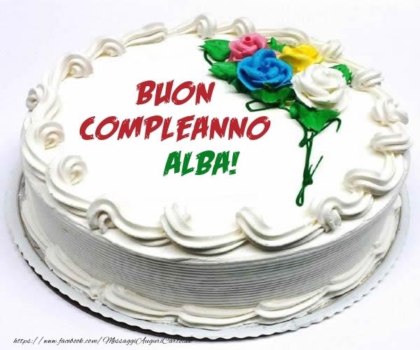 Cartoline di compleanno - Buon Compleanno Alba!