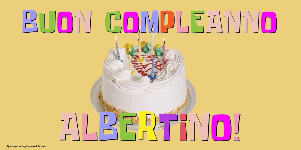 Cartoline di compleanno - Buon Compleanno Albertino!
