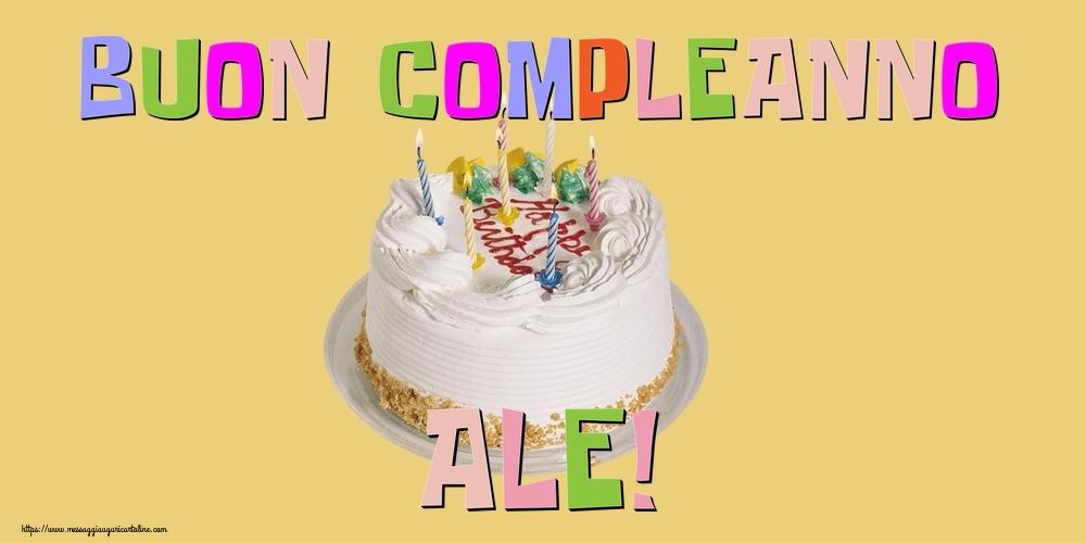 Cartoline di compleanno - Buon Compleanno Ale!