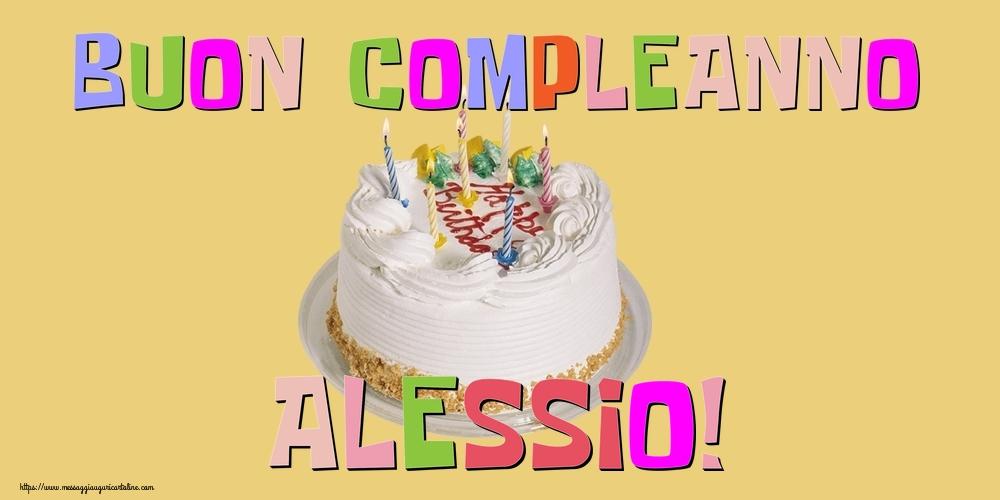 Cartoline di compleanno - Buon Compleanno Alessio!
