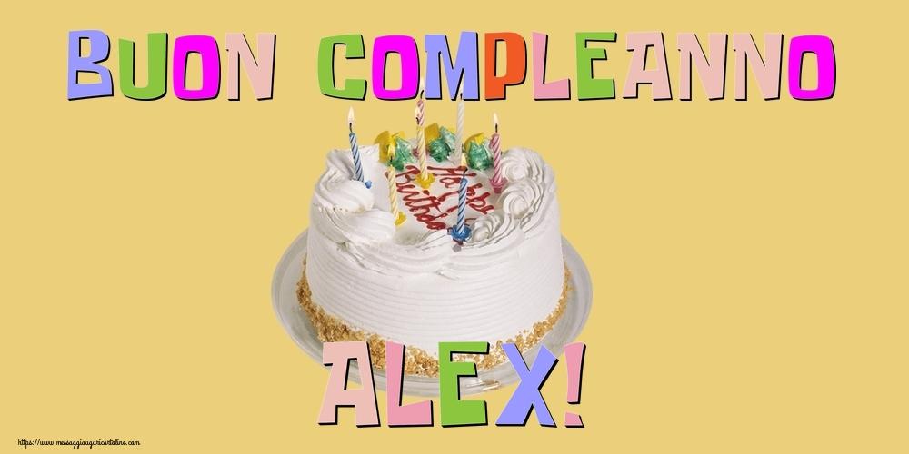 Cartoline di compleanno - Buon Compleanno Alex!