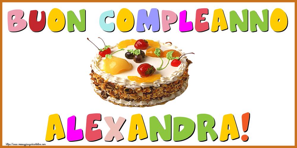 Cartoline di compleanno - Buon Compleanno Alexandra!