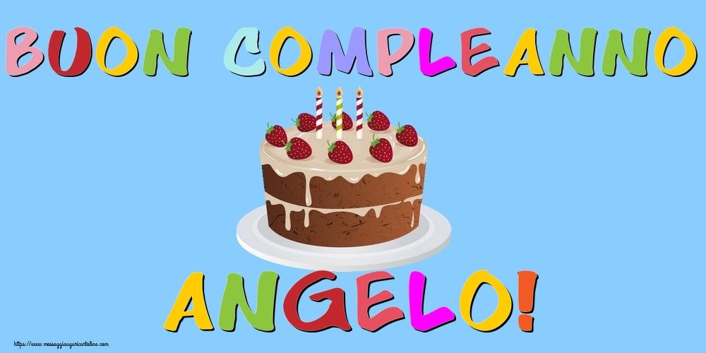 Cartoline di compleanno - Buon Compleanno Angelo!