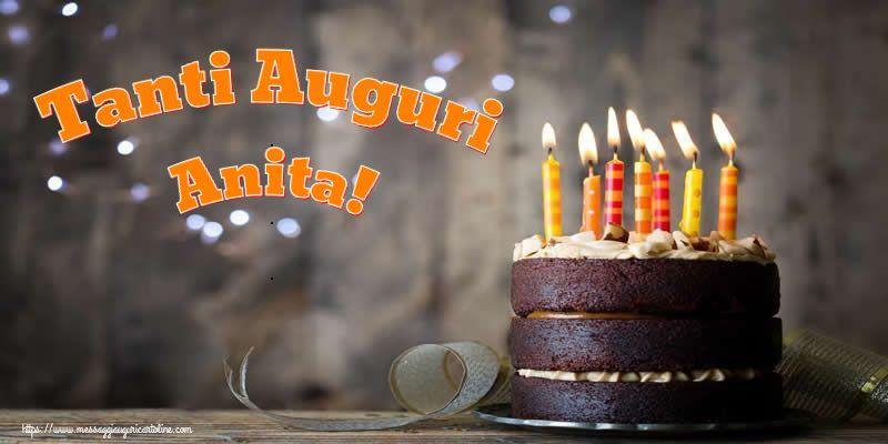 Cartoline di compleanno - Tanti Auguri Anita!