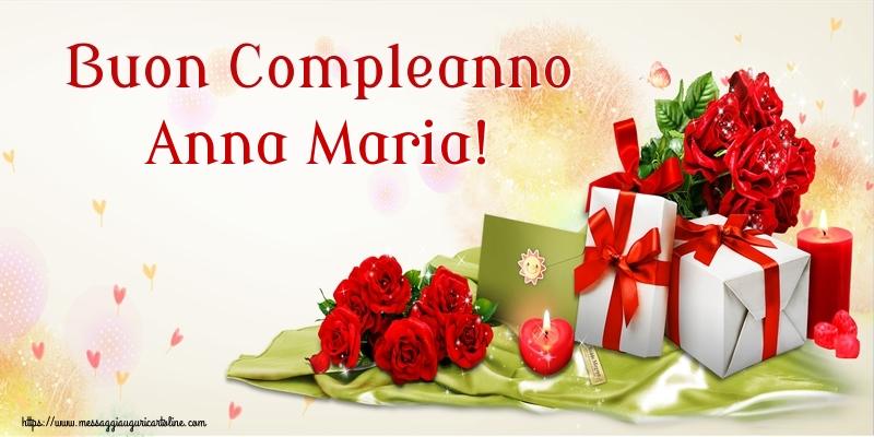 Cartoline di compleanno - Buon Compleanno Anna Maria!