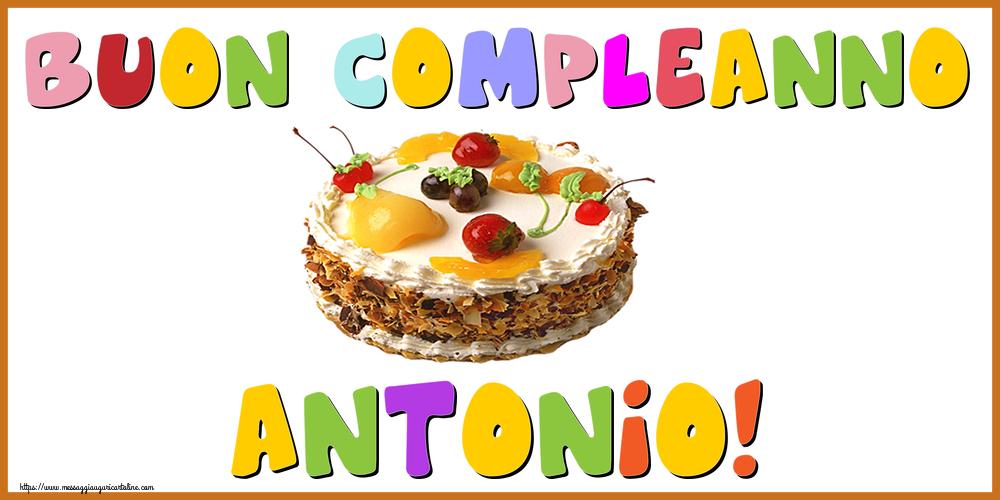 Cartoline di compleanno - Buon Compleanno Antonio!