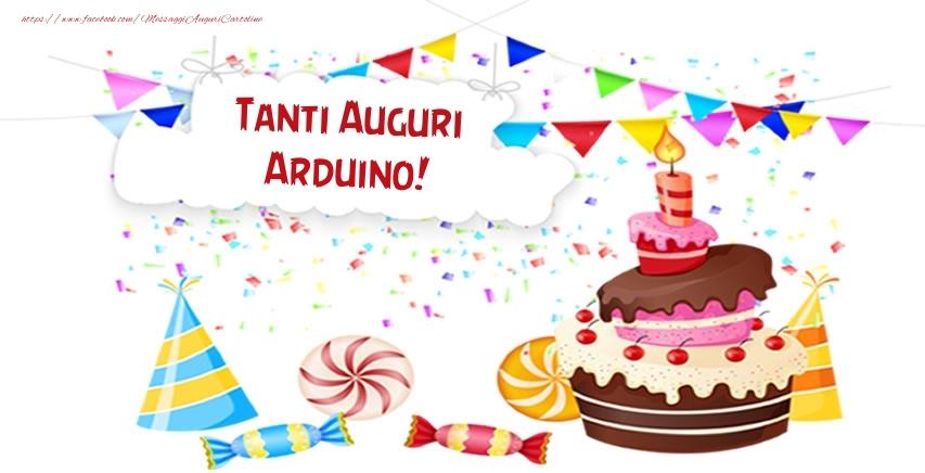 Cartoline di compleanno - Tanti Auguri Arduino!