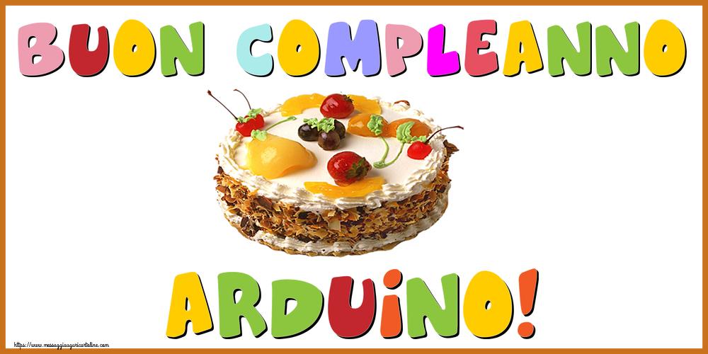 Cartoline di compleanno - Buon Compleanno Arduino!
