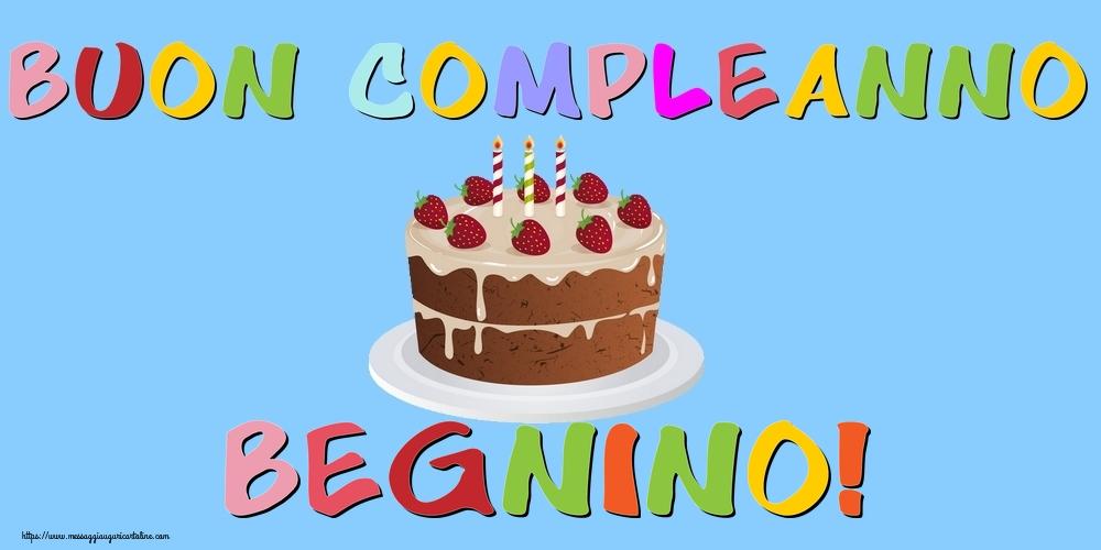 Cartoline di compleanno - Buon Compleanno Begnino!