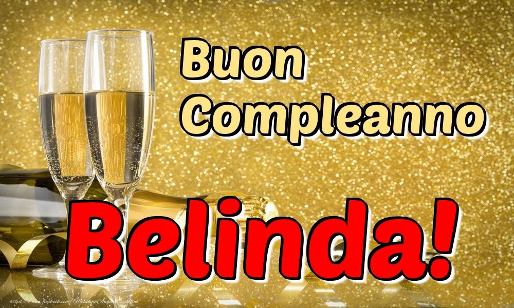 Cartoline di compleanno - Buon Compleanno Belinda!