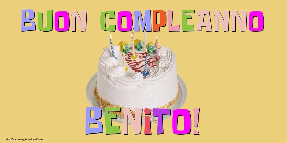 Cartoline di compleanno - Buon Compleanno Benito!