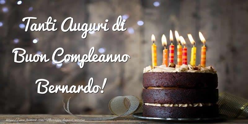 Cartoline di compleanno - Tanti Auguri di Buon Compleanno Bernardo!