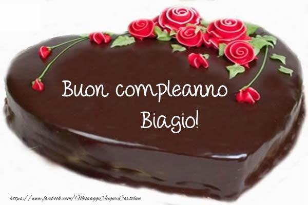 Cartoline di compleanno - Buon compleanno Biagio!