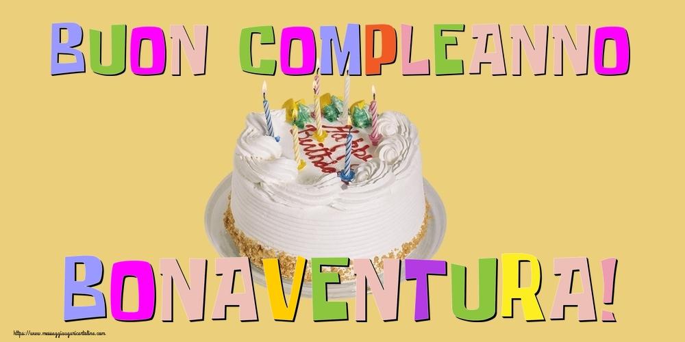 Cartoline di compleanno - Buon Compleanno Bonaventura!