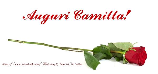 Cartoline di compleanno - Auguri di Buon Compleanno Camilla!