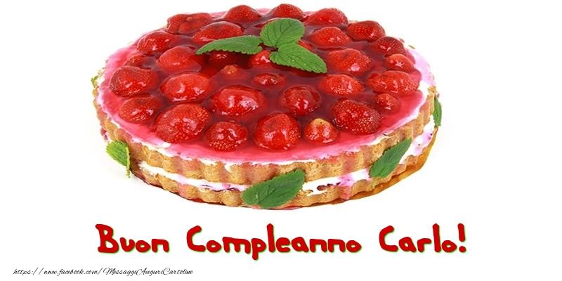 Cartoline di compleanno - Buon Compleanno Carlo!