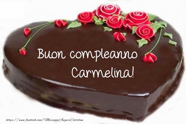 Cartoline di compleanno - Buon compleanno Carmelina!