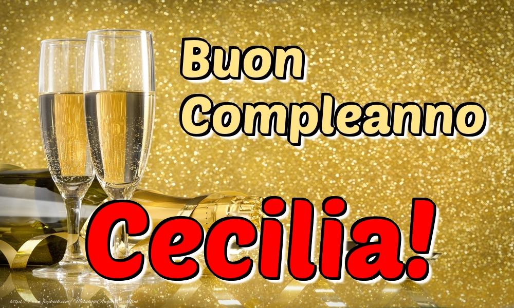 Cartoline di compleanno - Buon Compleanno Cecilia!