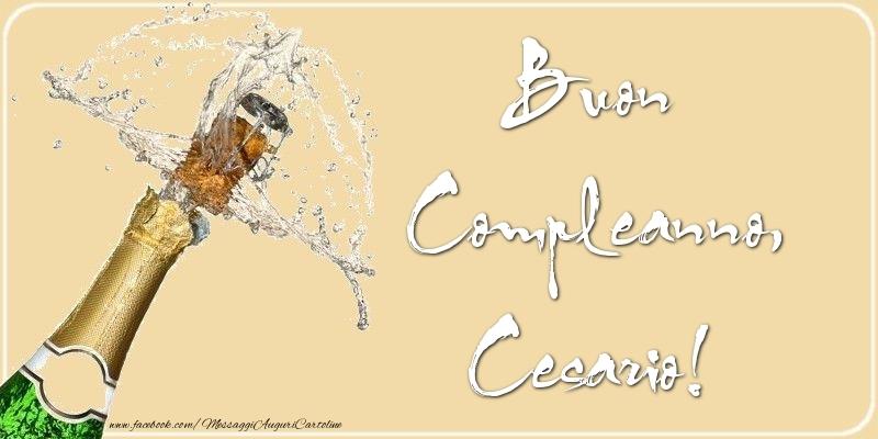 Cartoline di compleanno - Buon Compleanno, Cesario
