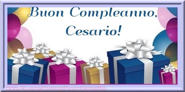 Cartoline di compleanno - Buon compleanno, Cesario!