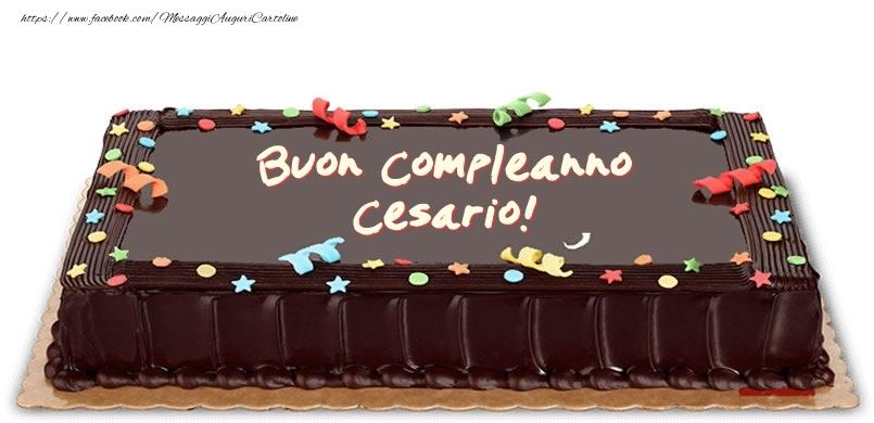 Cartoline di compleanno - Torta di compleanno per Cesario!