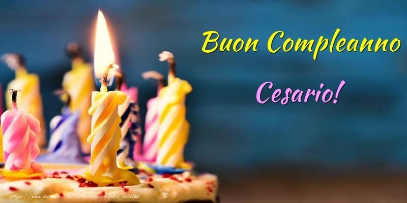 Cartoline di compleanno - Buon Compleanno Cesario!