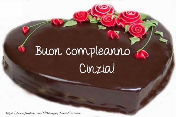 Cartoline di compleanno - Buon compleanno Cinzia!