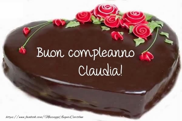 Cartoline di compleanno - Buon compleanno Claudia!