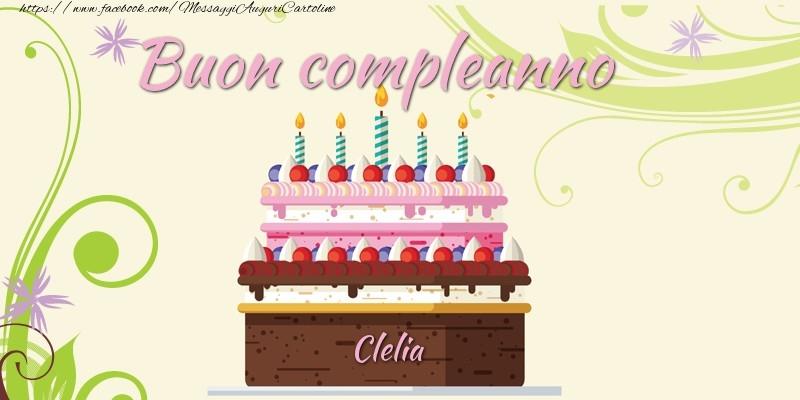 Cartoline di compleanno - Buon compleanno, Clelia!