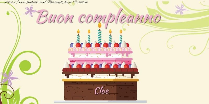 Cartoline di compleanno - Buon compleanno, Cloe!
