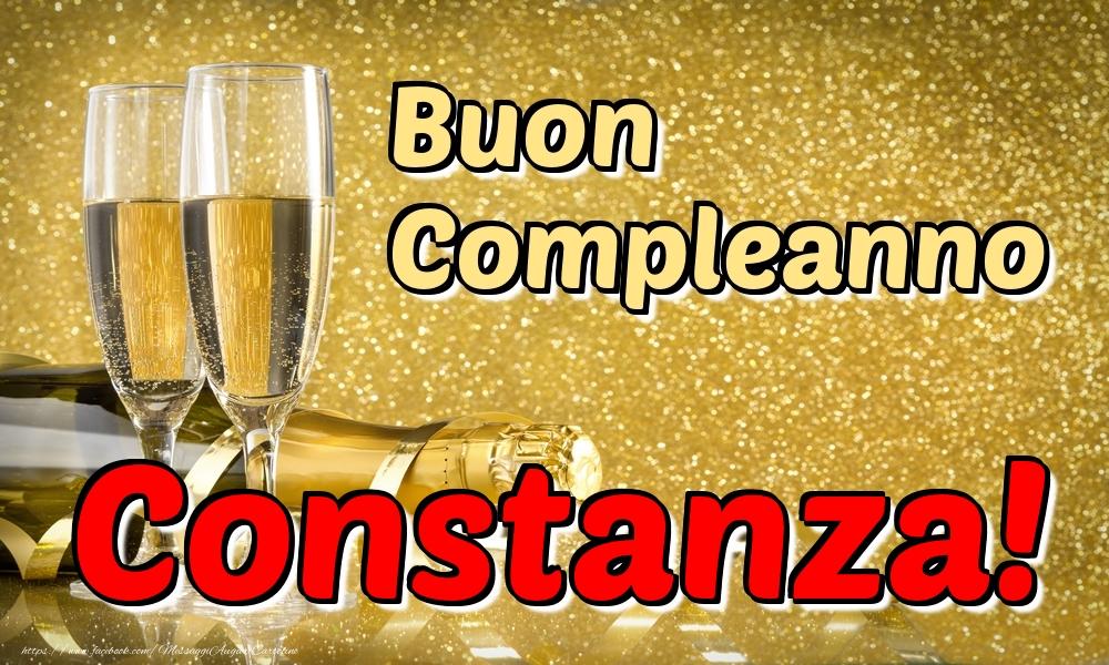 Cartoline di compleanno - Buon Compleanno Constanza!