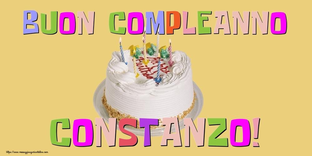 Cartoline di compleanno - Buon Compleanno Constanzo!