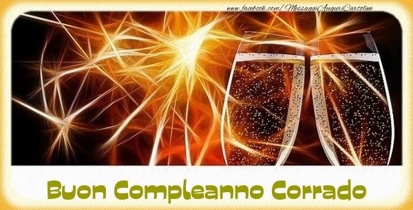 Cartoline di compleanno - Buon Compleanno Corrado