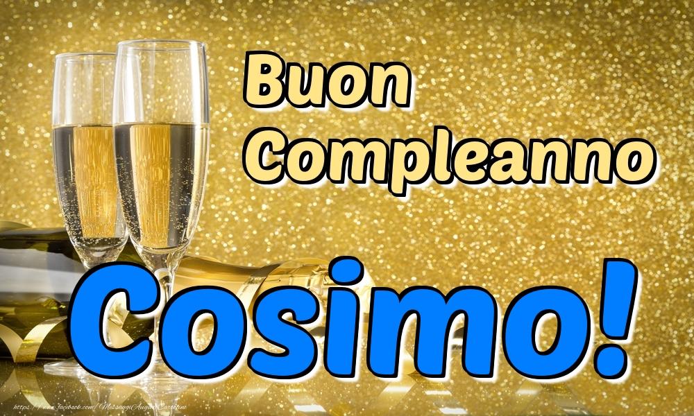 Cartoline di compleanno - Buon Compleanno Cosimo!