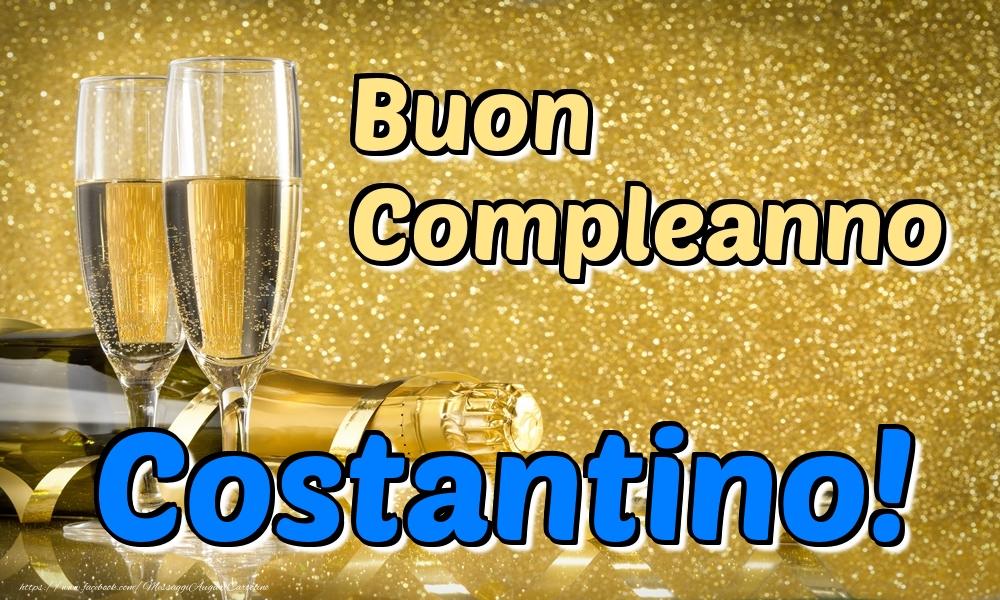 Cartoline di compleanno - Buon Compleanno Costantino!