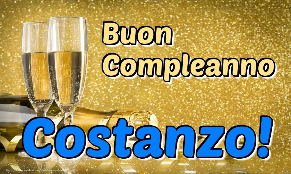 Cartoline di compleanno - Buon Compleanno Costanzo!