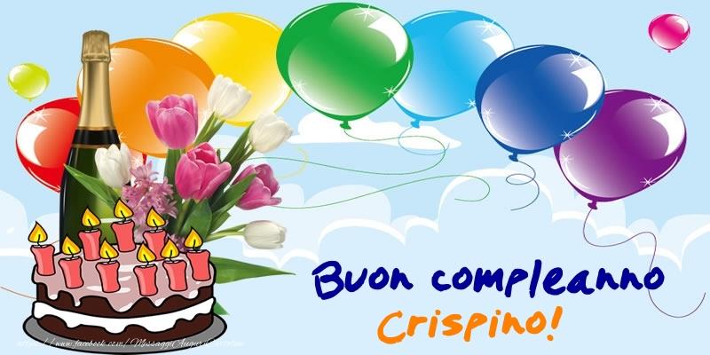 Cartoline di compleanno - Buon Compleanno Crispino!