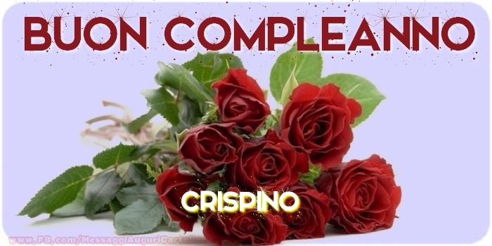 Cartoline di compleanno - Buon compleanno Crispino