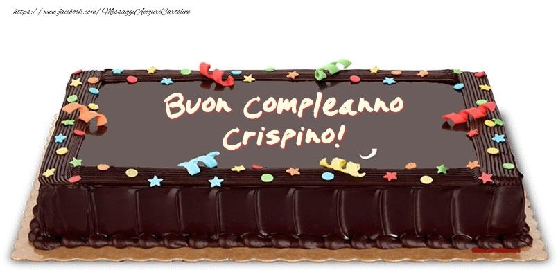Cartoline di compleanno - Torta di compleanno per Crispino!