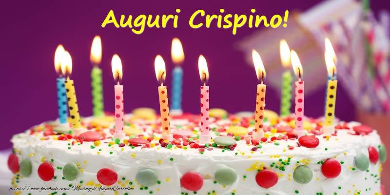 Cartoline di compleanno - Auguri Crispino!