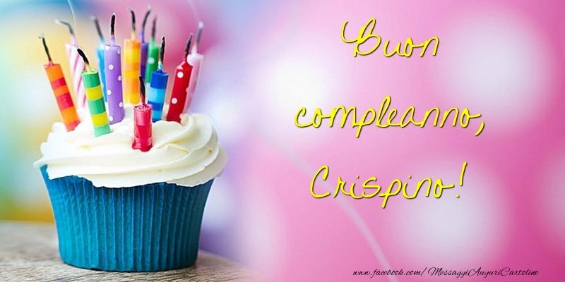 Cartoline di compleanno - Buon compleanno, Crispino
