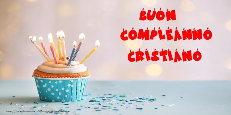 Amato Tanti auguri Cristiano! - Cartoline di compleanno per Cristiano  JH42
