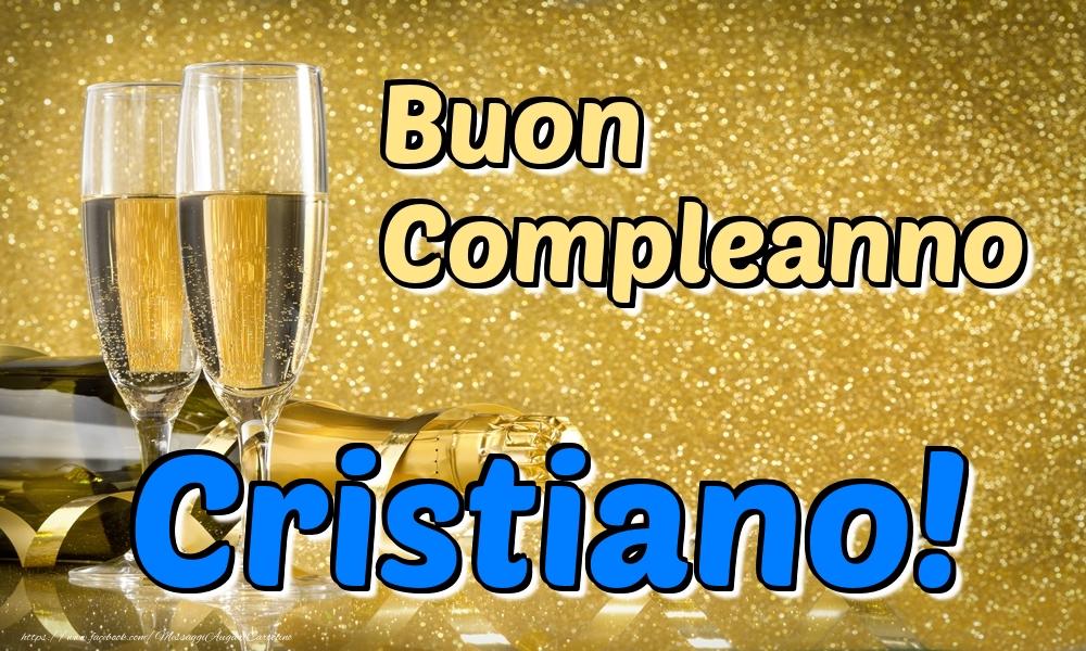 Cartoline di compleanno - Buon Compleanno Cristiano!