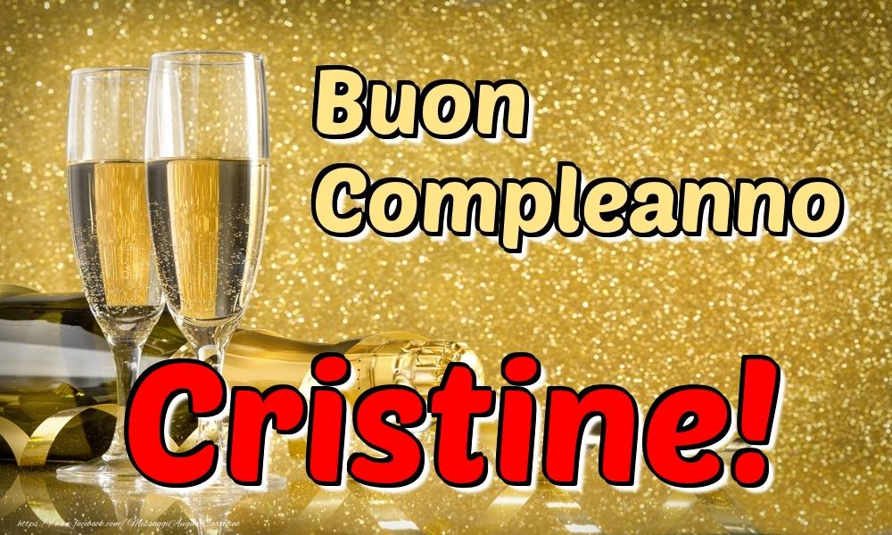 Cartoline di compleanno - Buon Compleanno Cristine!