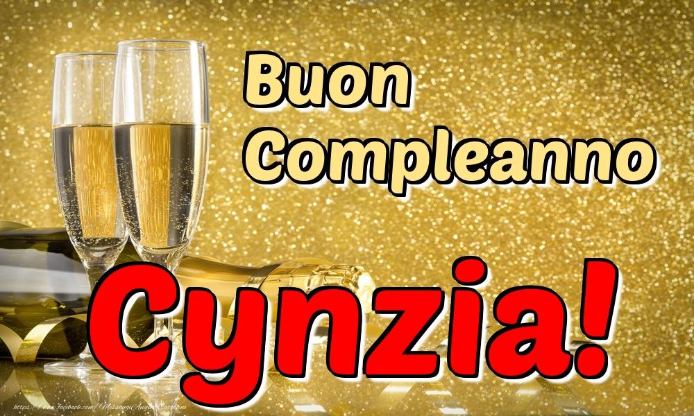 Cartoline di compleanno - Buon Compleanno Cynzia!