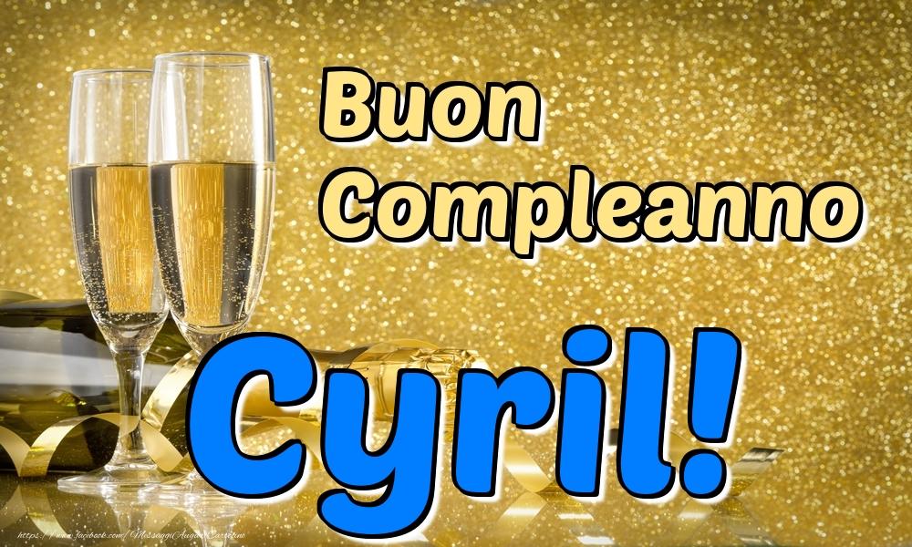Cartoline di compleanno - Buon Compleanno Cyril!