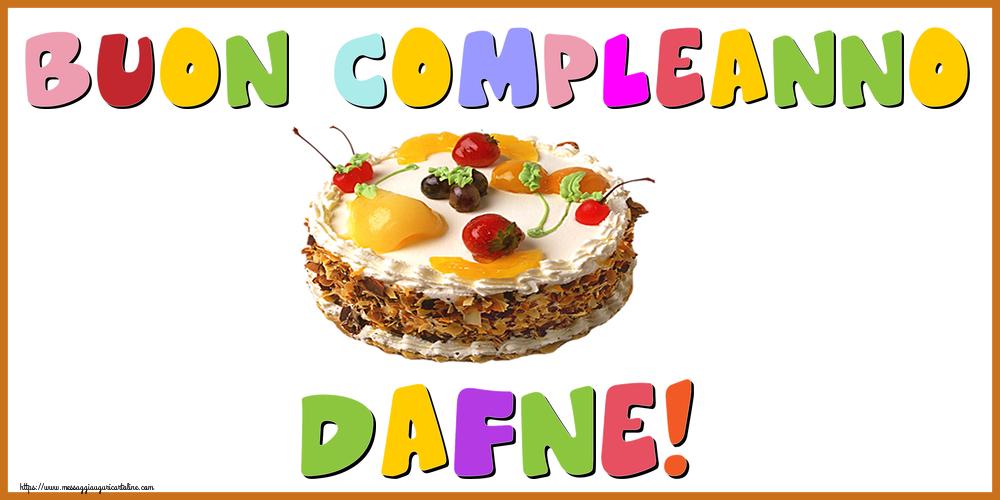Cartoline di compleanno - Buon Compleanno Dafne!