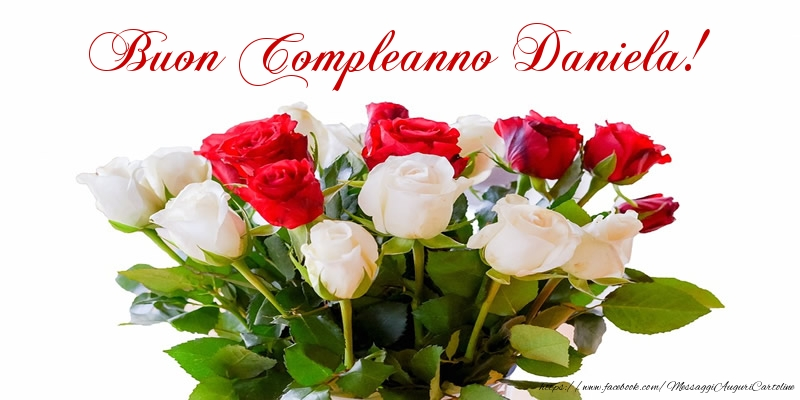 Super Buon Compleanno! Happy birthday! Auguri! Daniela - Cartoline di  OF57